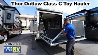 2019 Thor Outlaw 29j Class C Toy Hauler