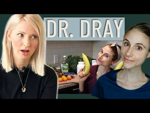 Dietitian Reviews Dr. Dray Problematic What I Eat in a Day (WARNING: THIS MAY BE TRIGGERING!)