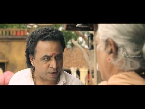 Kaaviya Thalaivan Tamil Movie - Ponvannan fights with Nasser