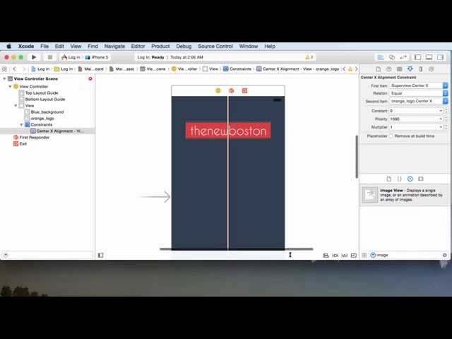 iOS Development with Swift Tutorial - 12 - Adding a Background Image