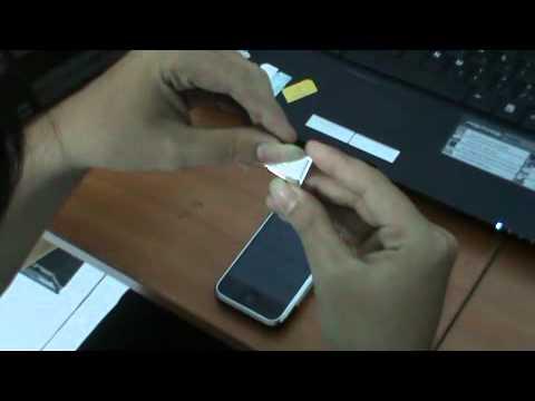 Hướng dẫn tháo lắp sim cho điện thoại iphone