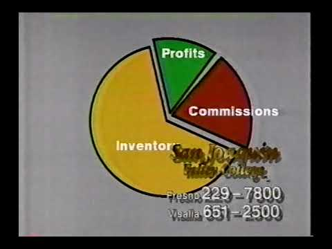 San Joaquin Valley College commercial, February 1993.