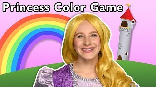 Princess Color Game + More | Mother Goose Club Playhouse Songs & Rhymes