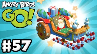 Angry Birds Go! Gameplay Walkthrough Part 57 - X-Mas Santa Sleigh! (iOS, Android)
