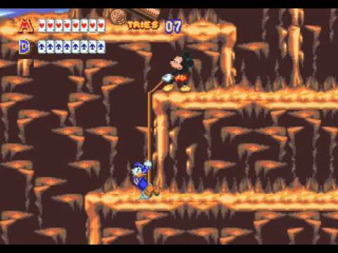 World Of Illusion Starring Mickey Mouse And Donald Duck Sega Genesis 2 Player 60fps