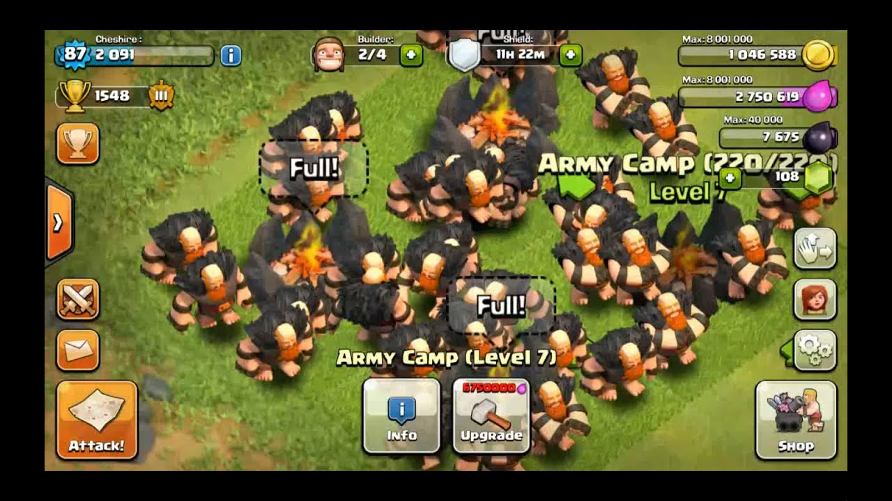 Clash Clans Giant Level 10