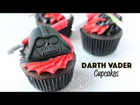 Star Wars Darth Vader Cupcakes Renee Conner YouTube