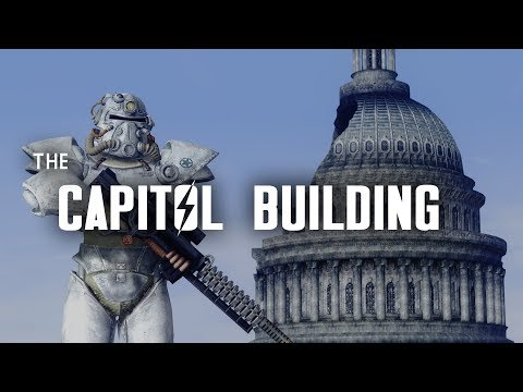 The Capitol Building - Once a Symbol of Power & Order; Now a