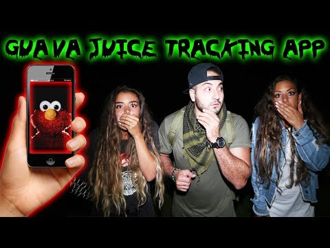 GUAVA JUICE TRACKING APP IN A FARM HOUSE! ( WE SAW SOMEONE)
