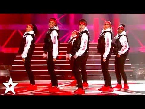 Winners FIRE Hiphop Dance Crew on Holland's Got Talent | All Performances | Got Talent Global