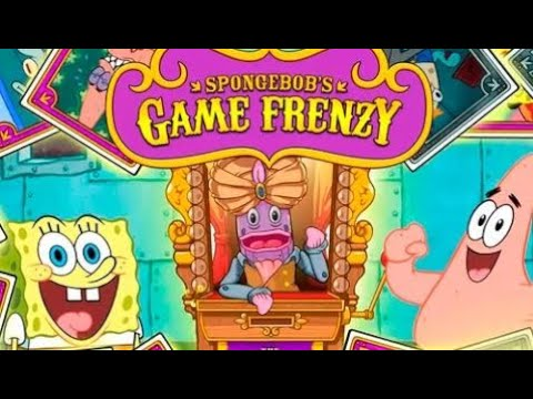 Kids Games HD - SpongeBob's Game Frenzy - The End! - Nickelodeon All Games Collected