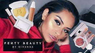 FENTY BEAUTY by Rihanna Makeup Review & Makeup Tutorial | Sarahy Delarosa