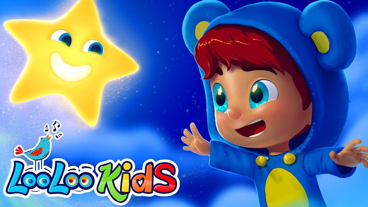 🌟 Twinkle, Twinkle, Little Star 🌟 Songs for Children | LooLoo Kids