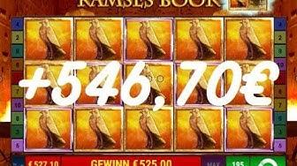 70,00€ Einsatz - Ramses Book - Echtgeld - 250 x 0,70€ - www.sunmaker.com