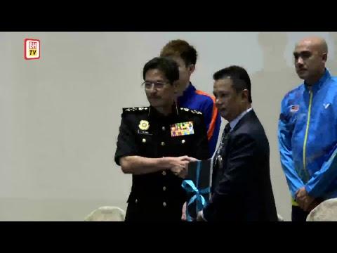 Majlis menandatangani ikrar bebas rasuah Persatuan Badminton Malaysia