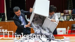Hong Kong voters back protests in historic election