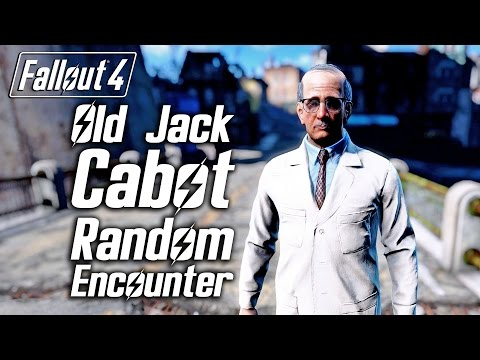 Fallout 4 - Old Jack Cabot - Random Encounter
