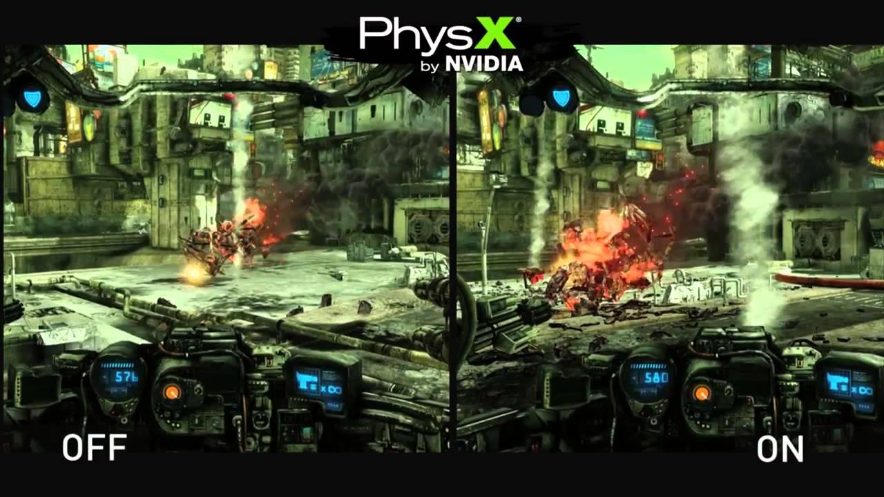 nvidia physx gratuit