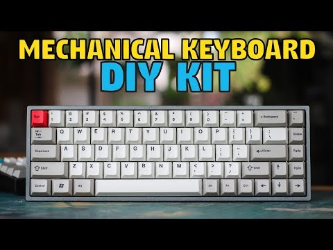 TADA68 Mechanical Keyboard Build & Review