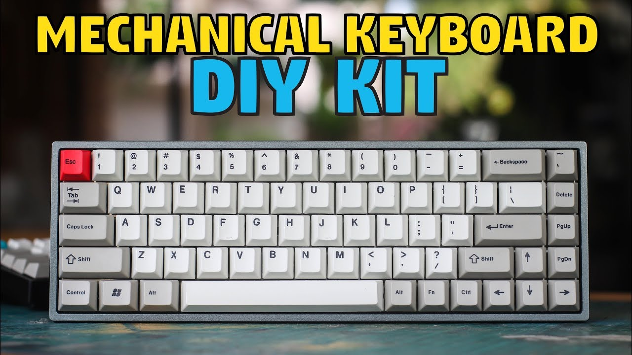 929505d672c TADA68 Mechanical Keyboard Build & Review - YouTube