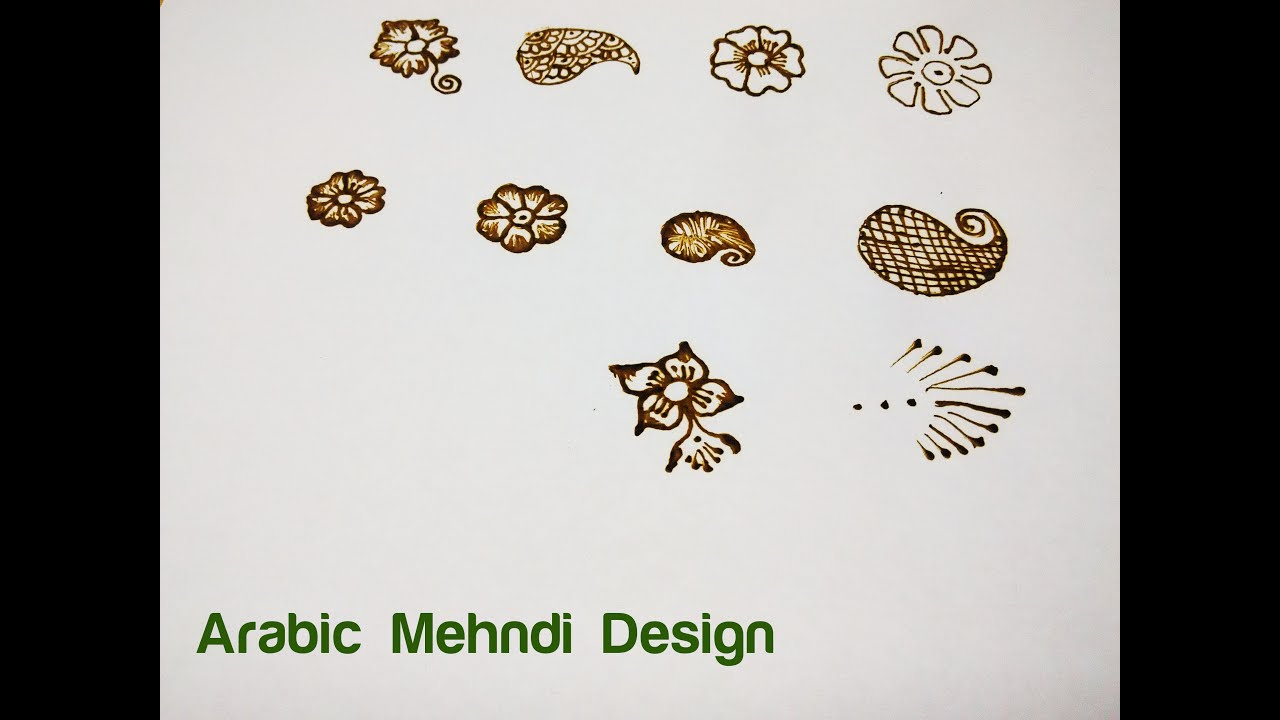 Learn Mehndi Patterns : Learn arabic design mehndi henna step by basic