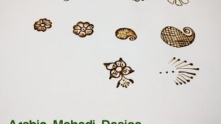 Learn Arabic Design Mehndi (Henna) Step by Step - 1. Basic Shapes & Curves