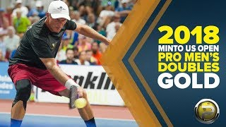 CBS Sports Broadcast - PRO Men's Doubles Gold - Minto US Open Pickleball Championships 2018
