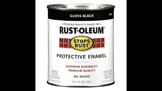 Apply Rustoleum Protective Enamel with a HVPL Gun (save money)