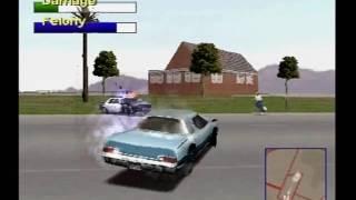 Driver 2 Take A Ride Vegas Day PS1 Game 124