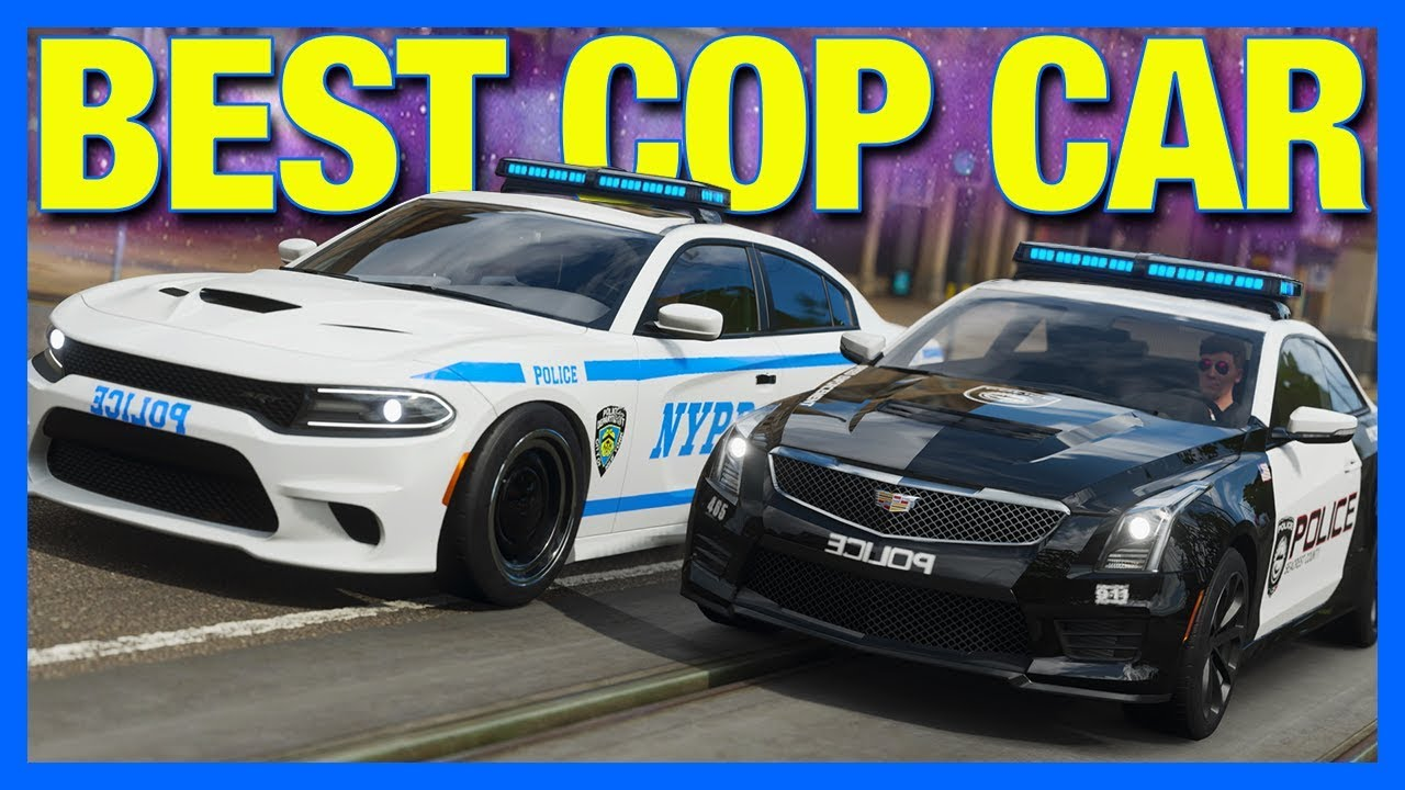 Forza Horizon 4 : BEST POLICE CAR CHALLENGE!! thumbnail