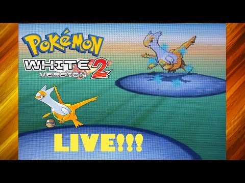 LIVE Shiny Latias In Pokémon White 2 After 1405 SRs! + Caught In A Luxury Ball!