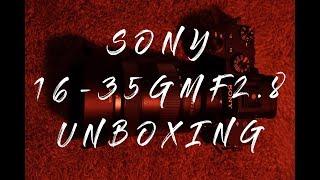 Sony 16-35mm GM f/2.8 소니 렌즈 언박…