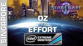EffOrt vs. Oz - 2/2 - Open Bracket - IEM Singapore - StarCraft 2