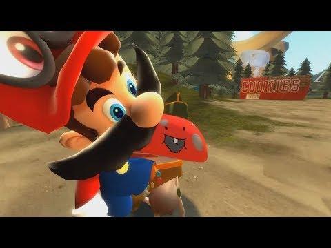 Stupid Mario Odyssey 2 : Esta AnimaciÓN Es Increible De Verdad Tienes Que Verlo 😂 🤣😂 🤣