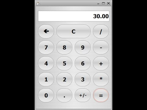 How to Create a Calculator with Round Buttons in Java NetBeans