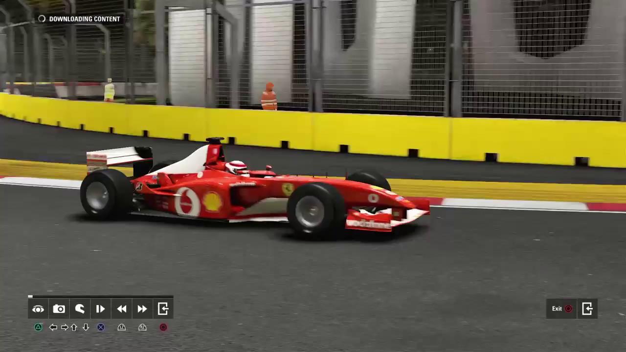 F1 2017 Michael Schumacher Ferrari F2002 Singapore Gp Dc Simracing Nl Keepfighting