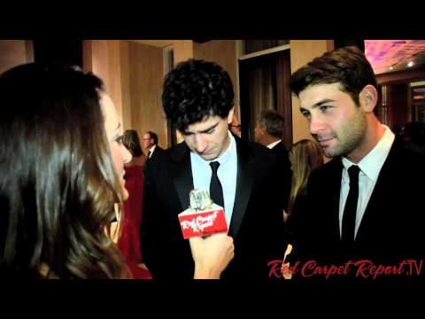 Hamish Linklater & James Wolk at the 64th Annual ACE Eddie Awards ACEeddies @JamesWolk