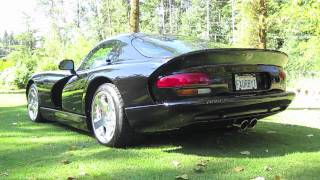 Dodge Viper GTS V10 Mopar Exhaust Sound