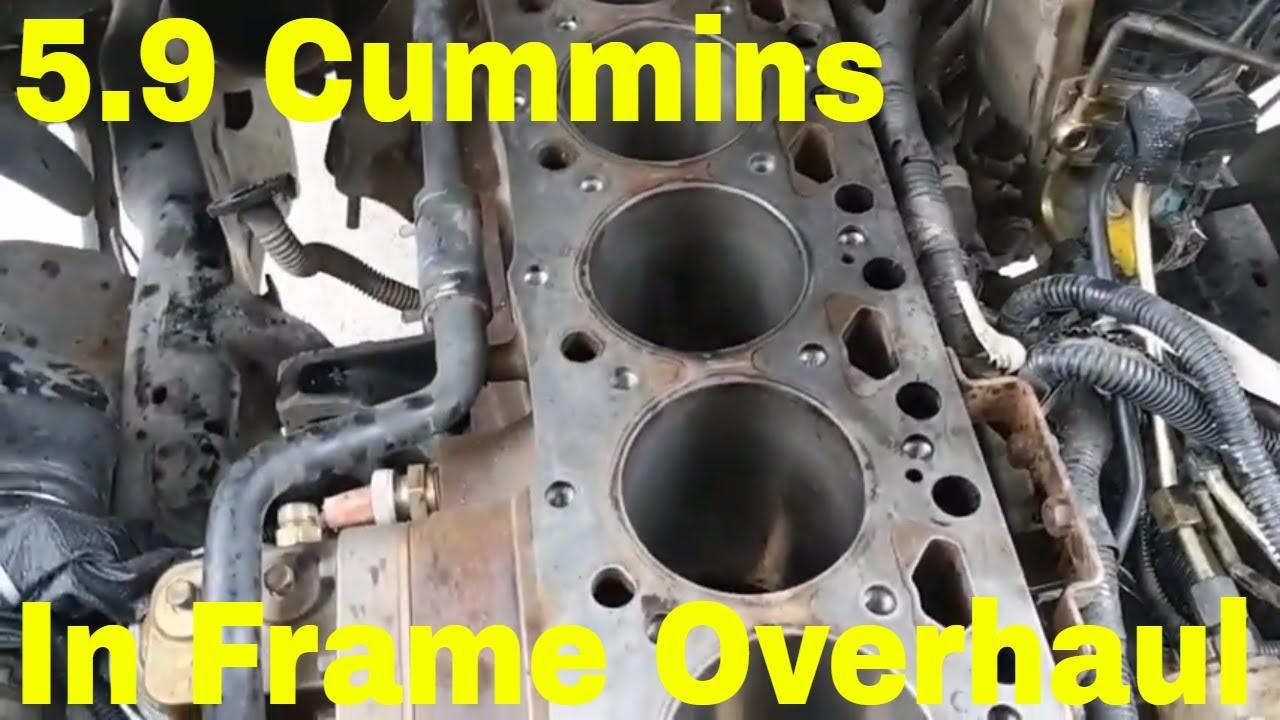 medium resolution of 5 9 cummins in frame rebuild 2005 dodge ram 2500
