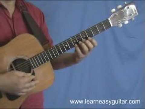 Daddad Learn Easy Guitar Song Somewhere Over The Rainbow Youtube