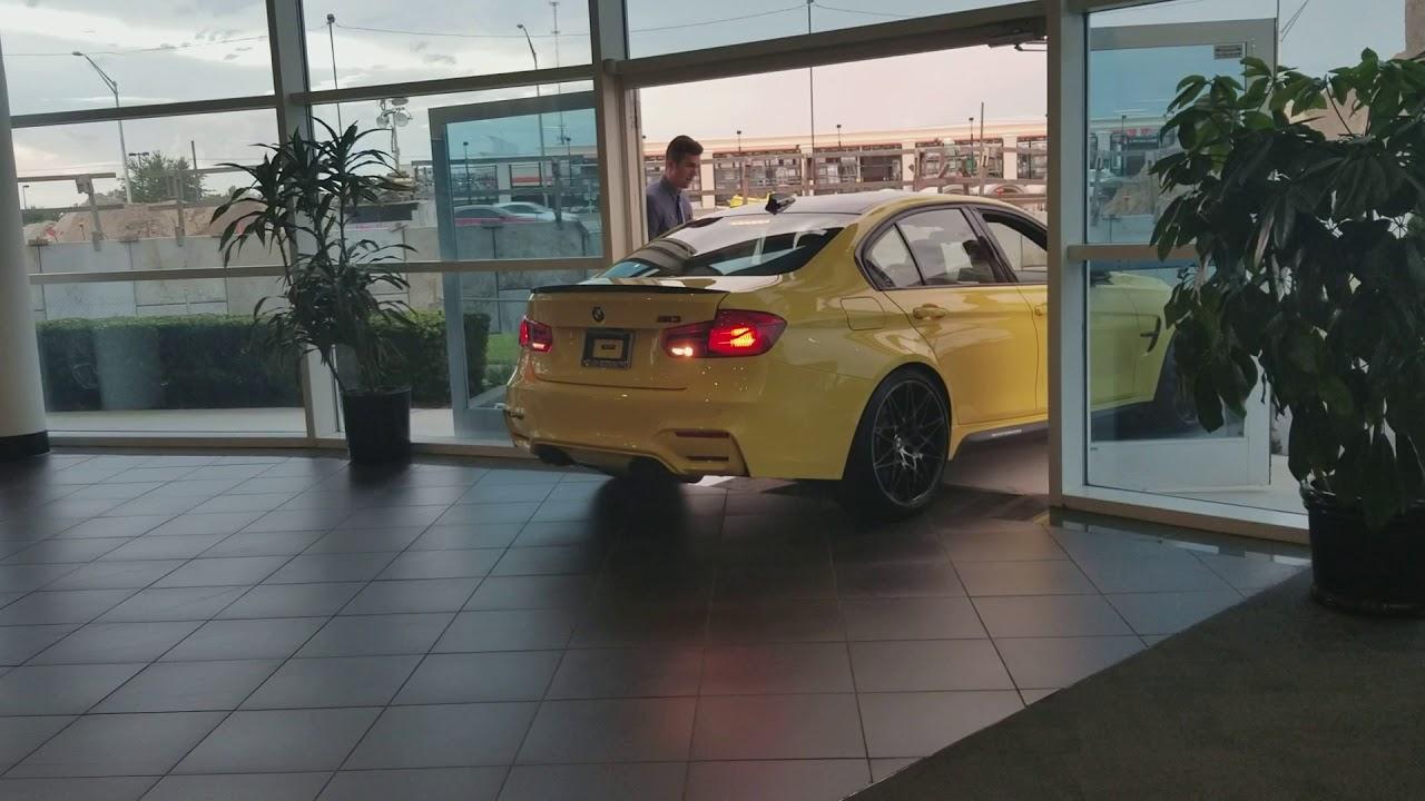 BMW Winter Park >> The Bmw M3 In Dakar Yellow Arrives At Fields Bmw Winter Park