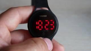 Skmei 1230 обзор цифровых часов. Skmei LED watch. Спортивные часы. Sport watch