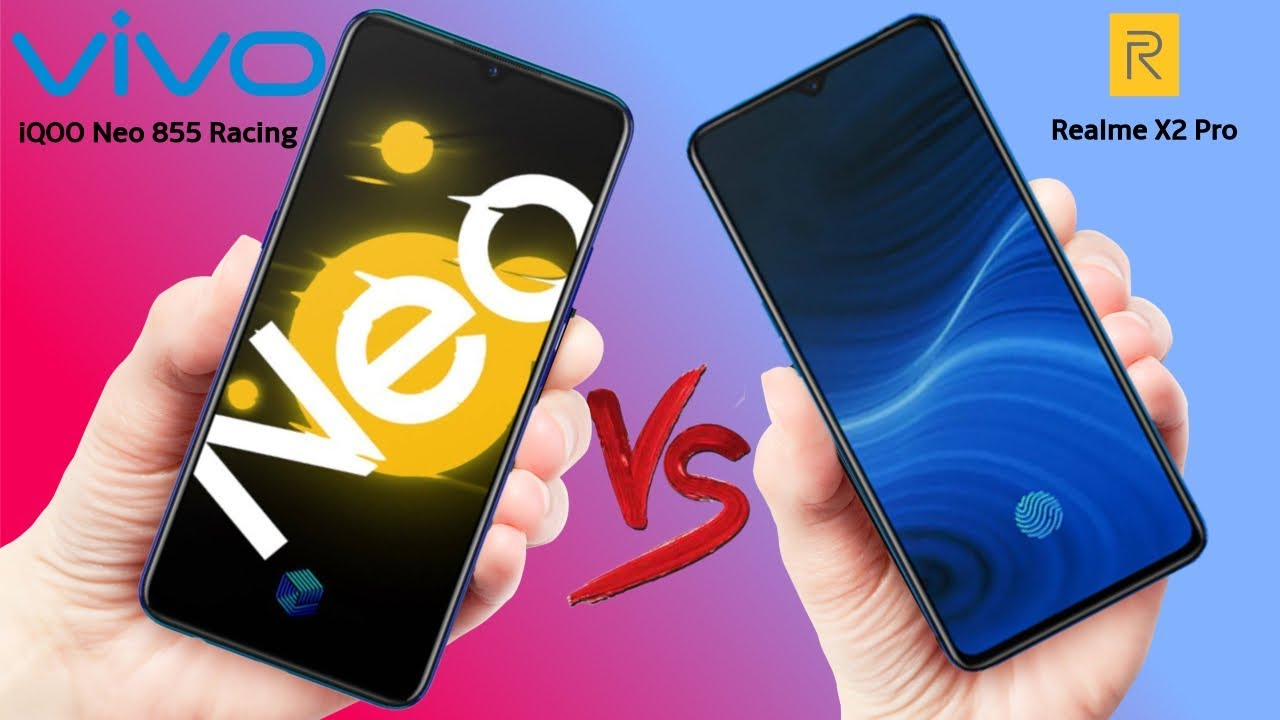 vivo iQOO Neo 855 Racing VS Realme X2 Pro  - Which should you Buy?