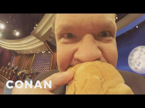 Conan Goes Extreme With His GoPro Cameras