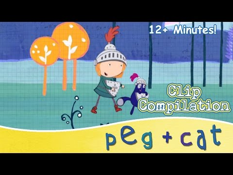 Peg + Cat - Shapes, Sizes and So Much More!