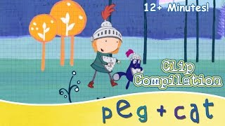 peg cat shapes sizes and so much more