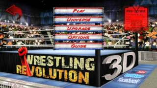 Wrestling Revolution 3D : Character Creation