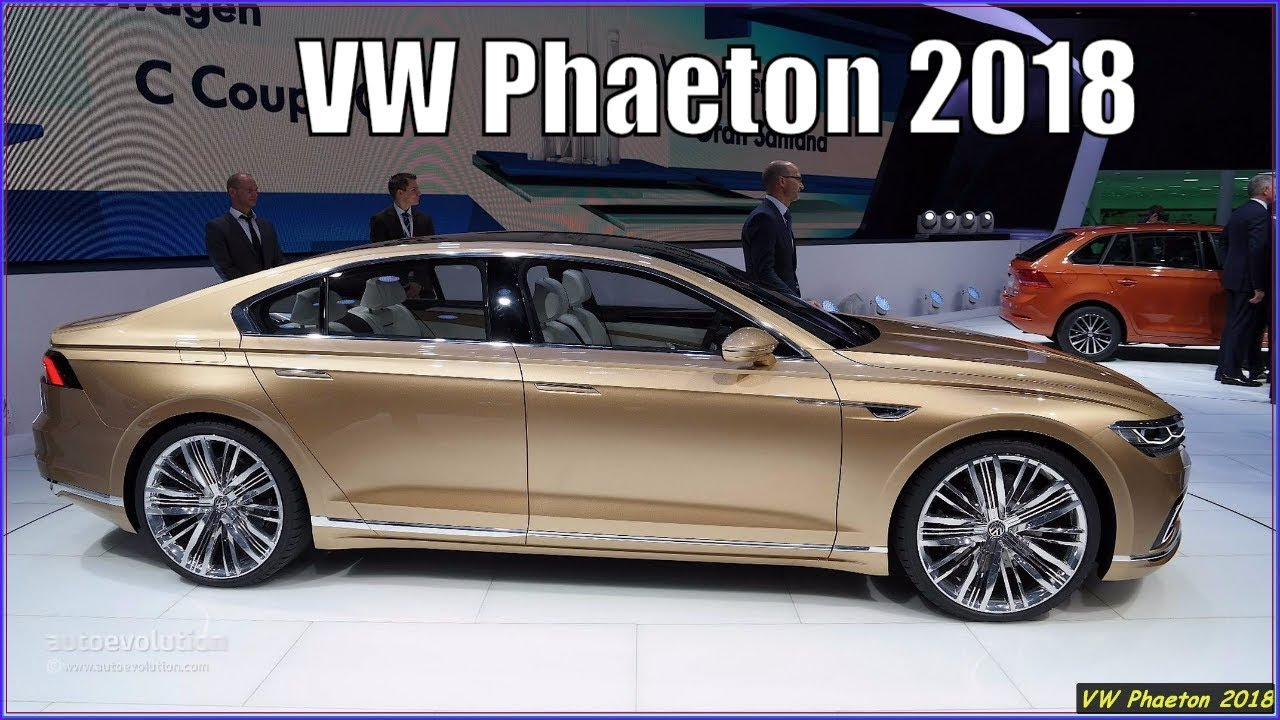 Nouvelle Jetta 2019 >> New Volkswagen Phaeton 2018 Interior and Exterior Overview - YouTube