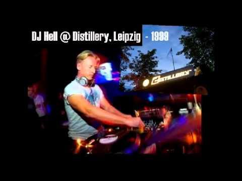 DJ Hell  @ Distillery, Leipzig / 1999