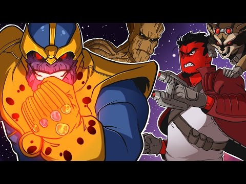 Guardians of the Galaxy: The Telltale Series (KICKING THANOS' A**!) Episode 1 Part 1